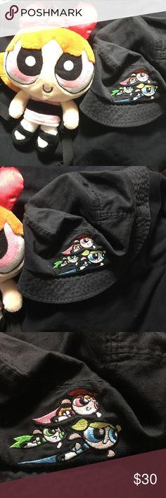 8deb4d72170f PowerPuff Girls 90 s Merch Mini Bag   Bucket Hat Light wear on both items.  Official