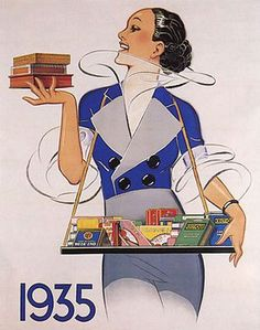 * Publicité pour cigarettes René Vincent (1879-1936)