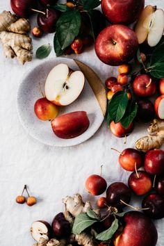 Ginger Apple Spritzer   TENDING the TABLE