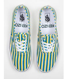 What a coincidence, they're coming out during my birth month? >>KENZO x VANS Stripes Collection