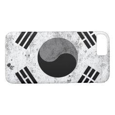 korea korea 한국 national flag 한글 Taegeukgi vintage iPhone 8/7 Case - personalize cyo diy design unique