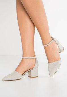Bianco Classic heels - cream un4FOB