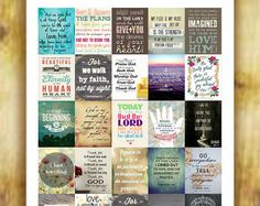 Inspirational Quotes Stickers Set 2 for Erin by RemanDesignStudio