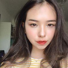 Cute Asian Girls, Beautiful Asian Girls, Cute Girls, Pretty Girls, Beautiful Women, Korean Ulzzang, Korean Girl, Korean Star, Korean Makeup