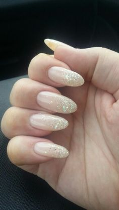 Classic light pink with glitter sprinkles x