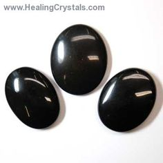 "Black Jasper is known as ""The Supreme Nurturer"". It is a stone with a highly protective energy. It also has very healing energy. Black Jasper is said to bring good luck to the bearer in a fight, whether it be a mental, political, legal, or other type. Cabochon - Black Jasper Healing Crystals."