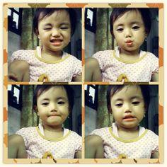 Funny expression of a 'Putri' :)
