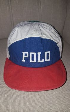 bdeca4e67ac Vintage polo ralph lauren stadium indian p wing 92 ski rare polo tennis hat   PoloRalphLauren