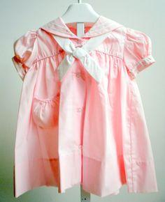 Vintage Pink Sailor Dress New never worn by breedbabynyc on Etsy, $27.50
