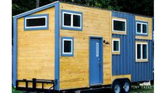 The Chuy: a modern/rustic tiny house with two spacious loft bedrooms, built by ATX Tiny Casas.