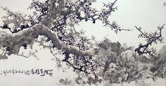 Plum blossom, Chinese painting