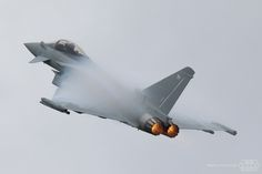 Eurofighter Typhoon Solo Display Royal Air Force ZK352 | por Spotterforlife