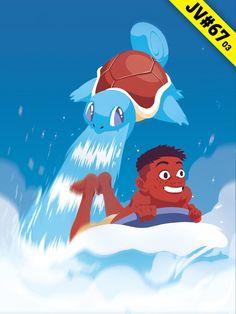 JV#67 par Opreem, version Carapuce Disney Characters, Fictional Characters, Illustrations, Disney Princess, Art, Art Background, Illustration, Kunst, Performing Arts