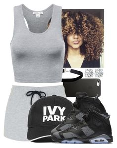 """""""Untitled #881"""" by lover-185 ❤ liked on Polyvore featuring Miss Selfridge, Topshop, Ivy Park, NIKE and Amanda Rose Collection"""
