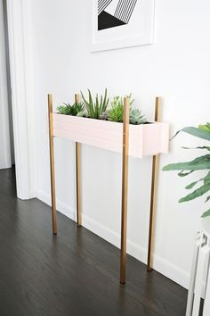 skinny planter diy