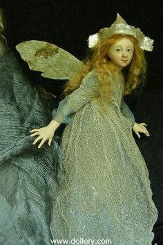Little Fairy in Blue. Anna Abigail Brahms Collectible Dolls