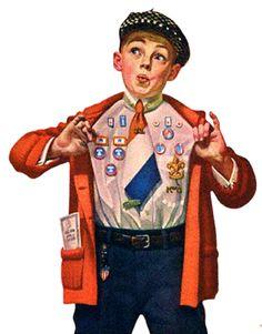 My Puzzles - Children - Vintage - Boy Scout 1930s
