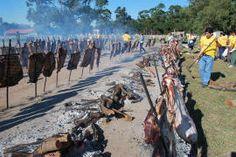 Un ritual argentino...El asado!