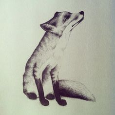 #fox #illustration #art #drawing #animals #woodland
