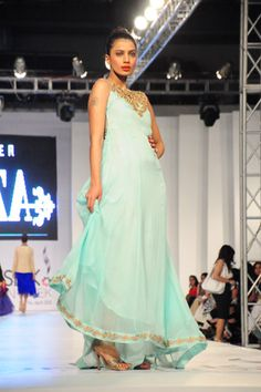 AZZA at PFDC Sunsilk Fashion Week 2012 Day 1