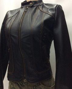 Black Leather Jacket – RYOJIN DRAGON - Lamb Leather