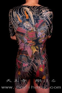 Japanese Tranditional Tattoo