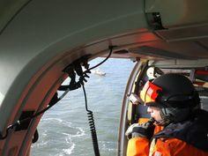 KNRM @knrm Vanuit de SAR helikopter tijdens oefening op de Westerschelde #KNRM