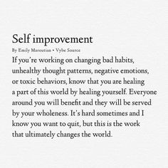 Self improvement//Self care//Self love. Quotes Dream, Motivacional Quotes, Words Quotes, Wise Words, Sayings, Qoutes, Self Love Quotes, Quotes To Live By, Stay Away Quotes