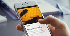 The company announced today the arrival of Instant Articles, a new platform where publishers can create content that lives directly inside Facebook's mobile app