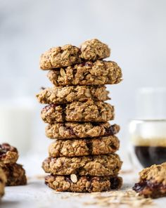 peanut butter and jelly breakfast cookies (vegan)