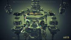 instrumental video nine by beeple. Simple machines work together to make music.