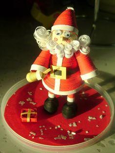 Santa quilling