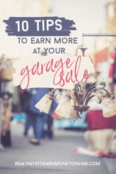 If you're looking for garage sale tips, the information we've provided here will help you make more money from your garage sale for ultimate success. Work From Home Companies, Work From Home Jobs, Make More Money, Make Money From Home, Sell Your Stuff, Things To Sell, Best Family Board Games, Garage Sale Tips, Make Money Online Surveys