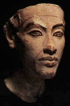 "Akhenaton - Worshiped Aton, the sun's disk (his name stood for ""beneficial to Aton"") - Pharaoh of Egypt, along with his wife Nefertiti BC) Egyptian Pharaohs, Ancient Egyptian Art, Ancient Aliens, Ancient History, Art History, Egyptian Mythology, Egyptian Goddess, European History, Ancient Greece"