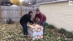 Casal faz festa para revelar sexo do bebê, mas acaba sendo surpreendido