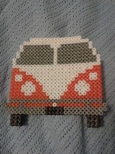 Road trip anyone? .  Free tutorial with pictures on how to make a pegboard bead model in under 150 minutes by creating, beading, and pegboarding with iron, perler beads, and hama bead ironing paper. Inspired by gifts and vintage & retro. How To posted by .  in the Decorating section Difficulty: Simple. Cost: Cheap. Steps: 3