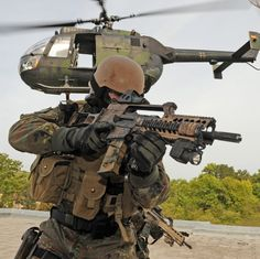 German Special Forces HDR #military #special forces #operator