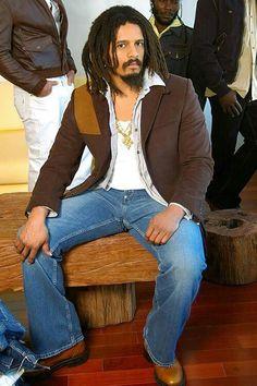 Rohan Marley. Bob Marley Sons, Marley Brothers, Reggae Bob Marley, Marley Family, Strong Black Man, Black Men, All Fashion, Fashion 2020, Beautiful Men