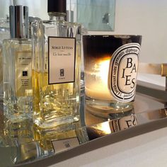 baies by diptyque. never pass up opportunity to buy a diptyque candle.