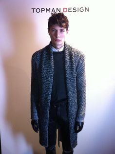 AW12 - One of our models being photographed for the live backstage Tweet Walk