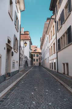 Lausanne Switzerland - A typical street in the centre of Lausanne's old town district. You can find me on: Instagram Twitter Patrick Roberts, Roads And Streets, Lausanne, Hd Photos, Old Town, Switzerland, Paths, Europe, Explore