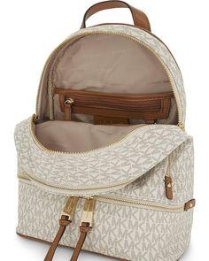 1808f7405701 Michael Kors Rhea MD Backpack Vanilla - Hemen Teslim - Ucretsiz Kargo   michaelkorsbag  rheabackpack