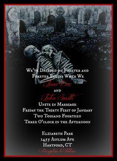 Skeleton Love Til Death Do Us Part PrintatHome by EternalEffigies, $35.00