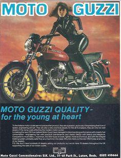 Manufacturer Moto Guzzi Detail ndash Original Advert middot V50II Size A4…