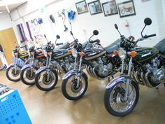 Kawasaki KZ Z1 Motorcycle Showcase - These Motorcycles Are Incredible.