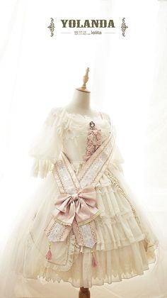 Yolanda Swan Song series pre-order - jumperskirt, one piece and overskirt, princess blouse, bonnet, echarpe, crown, necklace
