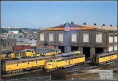 Train Room, Milwaukee Road, Union Pacific Railroad, Rail Car, Covered Wagon, Rolling Stock, Diesel Locomotive, Model Trains, Vintage Travel