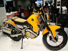 Yamaha XTW250 Ryoku Concept  off road, on road bike