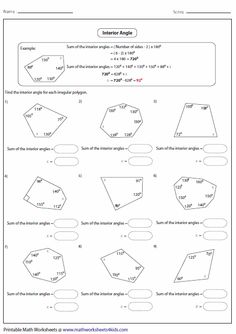 area of polygons worksheets free finding area of polygons surface area and volume powerpoint. Black Bedroom Furniture Sets. Home Design Ideas