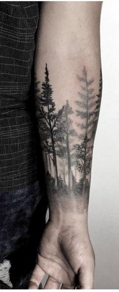 Tattoo forearm for guys quotes new ideas - tattoos & piercing& - . - Tattoo forearm for guys quotes new ideas – tattoos & piercing& – ร ผ r # - Tree Line Tattoo, Tree Tattoo Arm, Forearm Sleeve Tattoos, Forearm Tattoos For Guys, Men Flower Tattoo, Tattoo Ribs, Rib Tattoos, Tatuajes Tattoos, Shoulder Tattoos